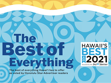 Hawaii's Best 2021 – The Best of Everything